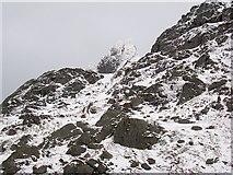 NN2605 : South peak of the Cobbler by Richard Webb