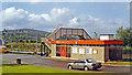NS3975 : Dalreoch station, 1994 by Ben Brooksbank