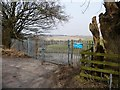 SE3141 : Entrance to Alwoodley pumping station by Christine Johnstone