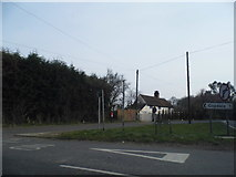 TQ1623 : Bar Lane at the junction of the A24 by David Howard