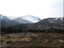 J3630 : View south across the summit plateau of Drinnahilly by Eric Jones