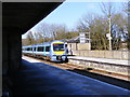TM4069 : Ipswich bound train at Darsham Railway Station by Adrian Cable