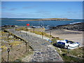 NU2135 : Coastal Northumberland : Keeping To The Path On Inner Farne by Richard West