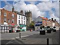 SE8741 : Market Place, Market Weighton by Pauline E