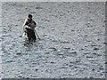 H3497 : Angler, Strabane by Kenneth  Allen