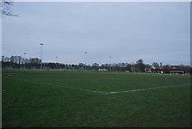 TQ7668 : Brompton Sports Ground by N Chadwick