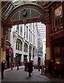 TQ3381 : Central Avenue, Leadenhall Market, London, EC3 by David Hallam-Jones