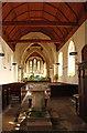 TL5457 : St Nicholas, Great Wilbraham - Font by John Salmon