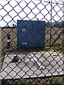 TM5193 : Pumping Station off Angles Way Path by Adrian Cable