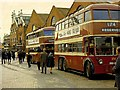 SU7173 : Reading trolleybus depot on the last day by Richard Green