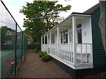 NT6779 : East Lothian Townscape : Dunbar Tennis Club - The Pavilion by Richard West