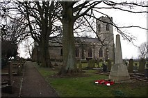 SK7284 : St. Peter's Church by Graham Hogg