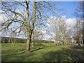 NU0343 : Layby, Haggerston by Richard Webb