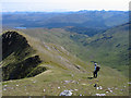 NM9586 : Ridge south from Streap Comhlaidh by Trevor Littlewood