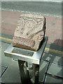 NS6161 : Plinth on Main Street by Thomas Nugent