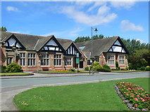 SJ3384 : Hulme Hall, Port Sunlight by Eirian Evans