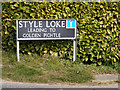 TG1107 : Style Loke sign by Geographer