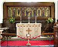 TM1072 : St Mary's church, Thornham Parva by Evelyn Simak