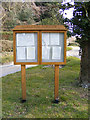 TG0905 : Carleton Forehoe Village Notice Board by Adrian Cable