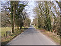 TG0905 : Barnham Broom Road, Carleton Forehoe by Adrian Cable