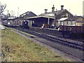 SX3285 : The closed GWR station at Launceston by Richard Green