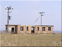 TG1507 : Derelict Building off the B1108 Watton Road by Geographer