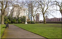 TQ2977 : Pimlico Gardens by David P Howard