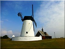 SD3727 : Lytham Windmill Museum by Rude Health