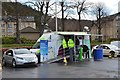 NT2540 : Electric vehicles on display, Peebles by Jim Barton