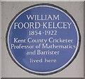 TR3671 : William Foord-Kelcey Plaque by David Anstiss