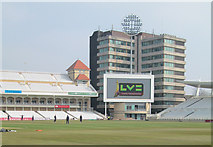 SK5838 : Trent Bridge Cricket Ground: the new giant screen by John Sutton