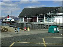 NS3882 : Duncan Mills Memorial Slipway by Thomas Nugent