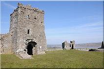 SN3510 : Llansteffan Castle by Philip Halling