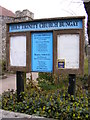 TM3389 : Holy Trinity Church, Bungay Notice Board by Adrian Cable