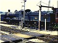 ST7440 : Locomotive taking water at Witham by Richard Green