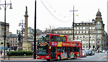 NS5965 : Glasgow City Sightseeing Bus by Thomas Nugent
