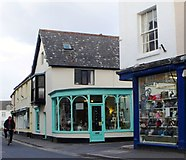 ST0743 : Shops, Swain Street, Watchet by nick macneill