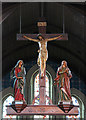 TQ3186 : St Thomas, Finsbury Park - Rood by John Salmon