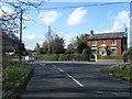 SJ8169 : Trap Street/B5392 junction by Colin Pyle