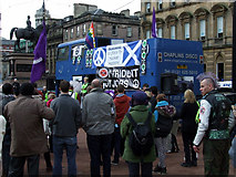 NS5965 : Rally in George Square by Thomas Nugent