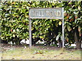 TG1309 : Mill Road Sign by Adrian Cable