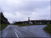 TG1509 : Marlingford Road, Bawburgh by Geographer