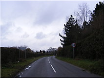 TG1509 : Entering Bawburgh on Long Lane by Geographer