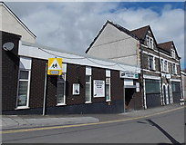 ST1599 : Bargoed & District Social Club by Jaggery