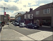 ST1599 : Upper High Street, Bargoed by Jaggery