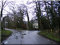 TG2702 : Hall Road, Framingham Earl by Adrian Cable