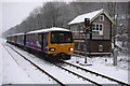 SD9926 : Class 144s approaching Hebden Bridge station  by Phil Champion