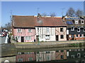 TL9925 : Houses on the Colne, Colchester by Malc McDonald
