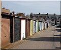 NJ9208 : Lock-up garages, Clifton Lane, Aberdeen by Bill Harrison