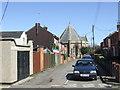 TM0221 : Church Hill, Rowhedge by Malc McDonald